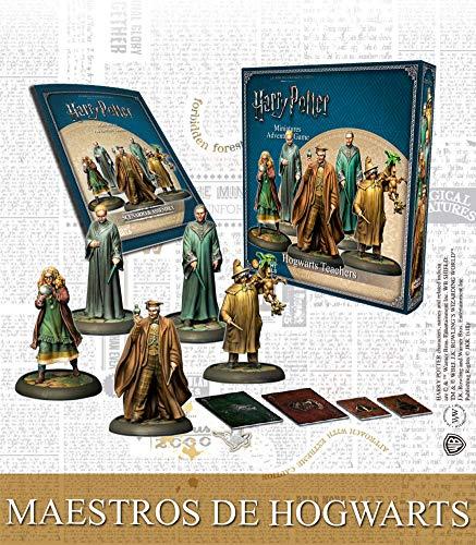 Knight Models Juego de Mesa - Miniaturas Resina Harry Potter Muñecos Master of Hogwarts - Box Español