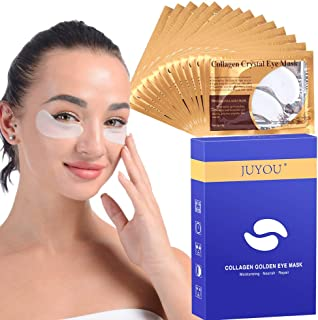 30Pairs JUYOU Collagen Under Eye Patches, Eye Masks, Eye Treatment Pads for Anti-wrinkles, Puffy Eyes, Dark Circles, Eye Bags