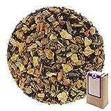 Núm. 1105: Té negro orgánico 'Manzana y canela' - hojas sueltas ecológico - 100 g - GAIWAN® GERMANY - manzana, cassia, té negro de China