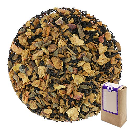 N° 1105: Thé noir bio 'Pomme cannelle' - feuilles de...