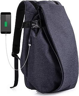PCリュック メンズ 大容量 防水 通勤 ビジネスリュック 15.6インチPC対応バックパック USBポート付き多機能リュック Tommos (ネイビー)