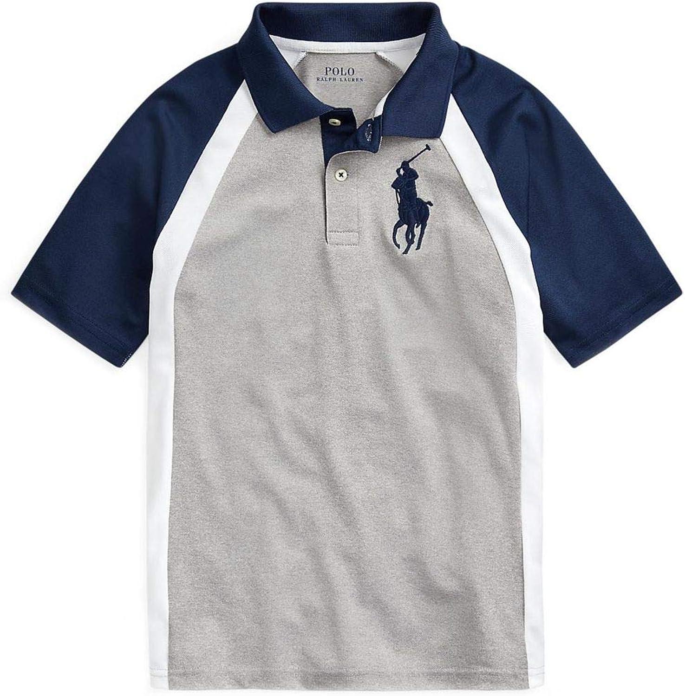 Polo Ralph Lauren Boy`s Performance Stretch Lisle Polo Shirt