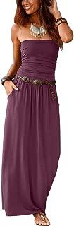 Best bandeau long dresses Reviews