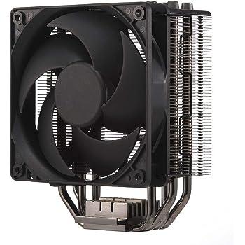 Cooler Master Hyper 212 Black Edition - Silenzioso, Elegante e Preciso, 4 Tubi di Calore a Contatto Continuo Diretto con Alette, Ventola FP120 Silencio