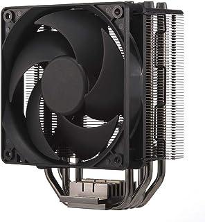 Cooler Master Hyper 212 Black Edition - Silencioso, Elegante y Preciso, 4 Tubos de Calor Contacto Directo Continuo con Aletas, Ventilador Silencio FP120