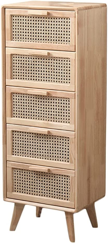 shuangchun Clearance SALE Limited time Dresser Chests of Drawers Wood Solid Rattan St Drawer shop