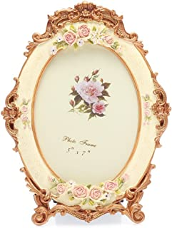 Best oval floral frame Reviews