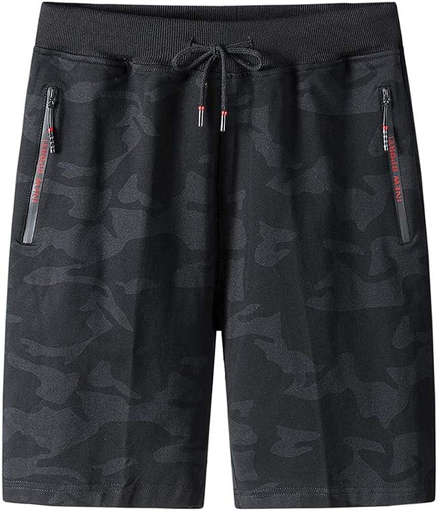 FMALL Men's Shorts Casual Classic Max 84% OFF Sh Drawstring Summer Beach Fit Many popular brands