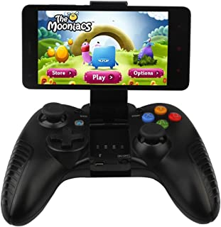 Uniway GK05 Game Controller Wireless Bluetooth Controller Gamepad PC Controller Joystick For Smart Phones/Tablets With Android System-Black