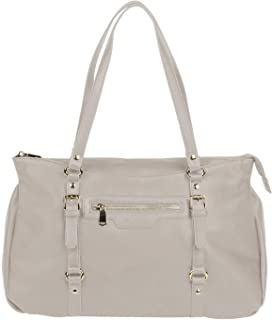 Urban Originals Women's Gold-Tone Hardware Solitude Tote Bag | One - Size | Clear