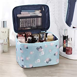 AXYQ Borsa Grande Cosmetici, Make up Organizer Professional Beauty Case Trucco Organizer Portable Toilette Cosmetic Bag Li...