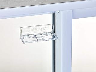 Burglabar 4 Pack - Great for Sliding Patio Door Lock, (Use 2 for doors), Sliding Window Lock, Sliding Basement Windows Lock, Child Safety Lock