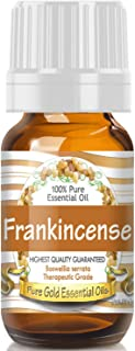Pure Gold Frankincense Essential Oil, 100% Natural & Undiluted, 10ml