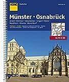 ADAC Stadtatlas Münster/Osnabrück mit Ahlen, Dülmen, Ibbenbüren, Lingen, Melle: Nordhorn, Rheine 1:20 000 (ADAC StadtAtlanten 1:20.000)