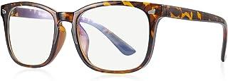 OLIEYE Computer Blue Light Blocking Glasses - Square Game Eyeglasses for Women Men Anti Eye Eyestrain Reading Gaming Glasses