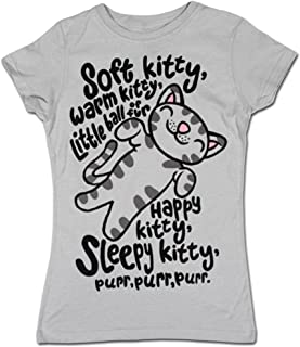 Soft Kitty Big Bang Theory Ladies T-Shirt