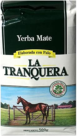 LA TRANQUERA Yerba Mate x 500 g Argentina Green Tea 1.1 lb Detox Healthy Drink
