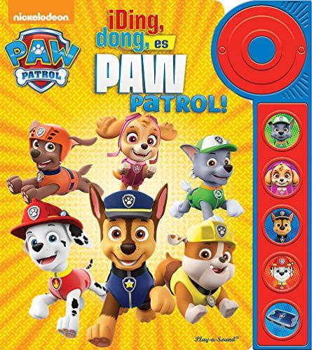Libro con timbre Patrulla Canina: DING DONG, ES PAW PATROL (LDB)
