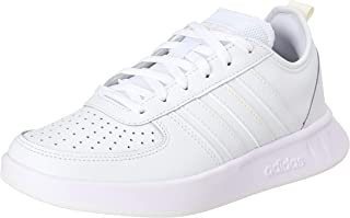Adidas Court 80s Perforated Cap Toe Lace-Up Tennis Shoes for Women