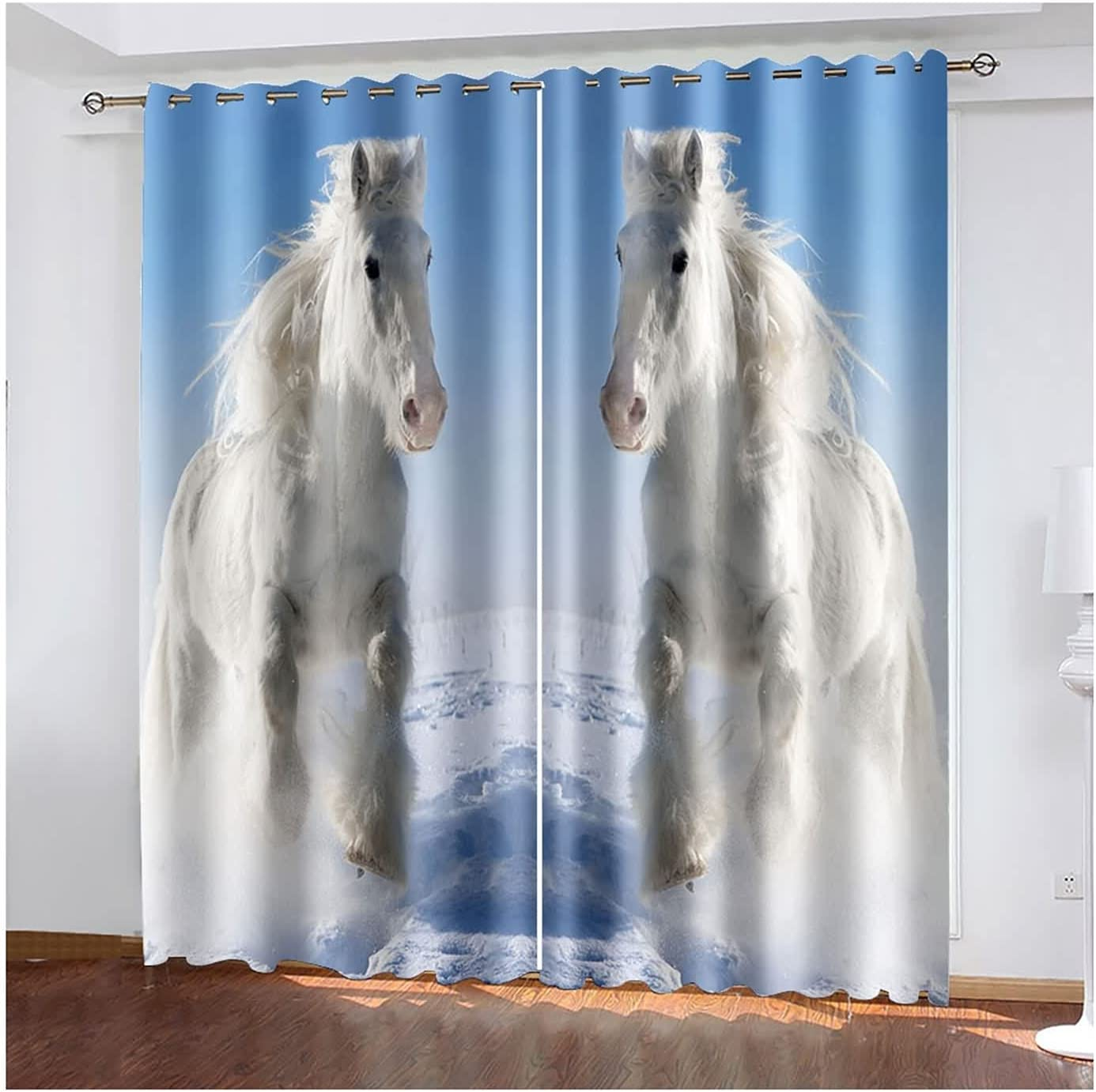 Curtain for 2021 new Living Room 2 Curtains Darkening Bedroom Panels Special Campaign