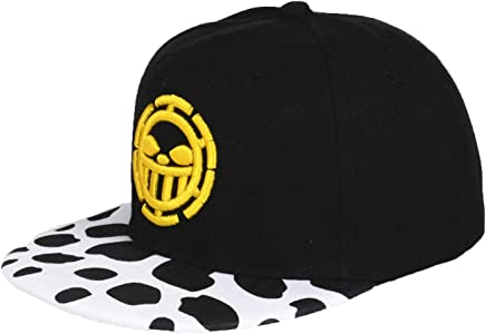 Anime One Piece Trafalgar Law Sign Skull Head Baseball Caps Sunhat Cosplay  Hats 335c94e24a68
