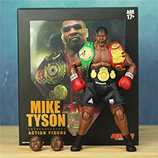 1/12 Boxing Champion Mike Tyson 6 Action Figure KO's Storm Collectibles with 3 Head