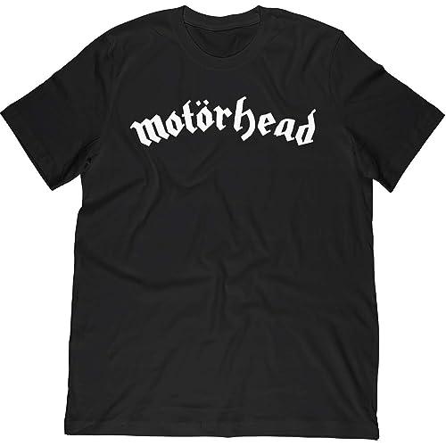 920a11757b5 Motorhead English Heavy Metal Band Logo T-Shirt Rock Metal t Shirt