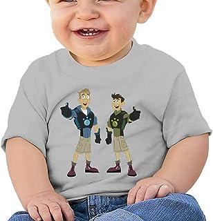 Edward Beck 6-24 Month Baby T-Shirt Wild Kratts Logo Fashion Classic Style RoyalBlue