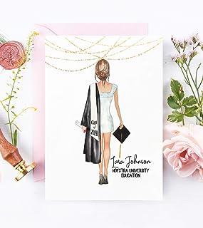 Graduation Card for Her Class of 2020 | Custom College University Graduation | High School Graduate