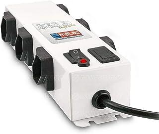 Filtro De Linha Profissional Emplac Protetor Eletrônico Bivolt 6 Tomadas Espaçadas Modelo F50097