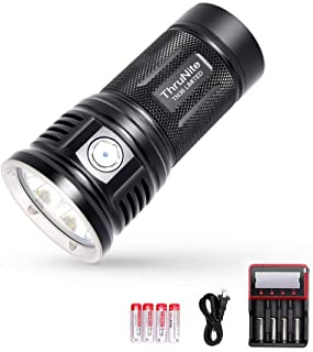 ThruNite TN36 Limited Version 11000 Lumen CREE XHP 70B LED Powerful Floody Flashlight, with ThruNite Charger MCC-4S included Cool White (CW)