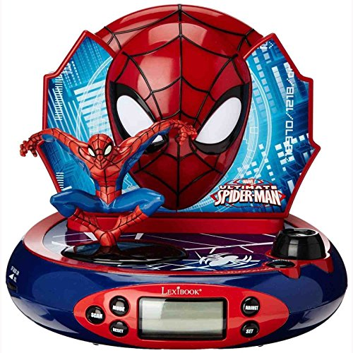 Spider-Man Radiowecker mit Projektion RP500SP