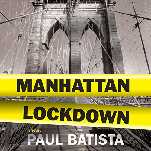 Manhattan Lockdown audiobook cover art