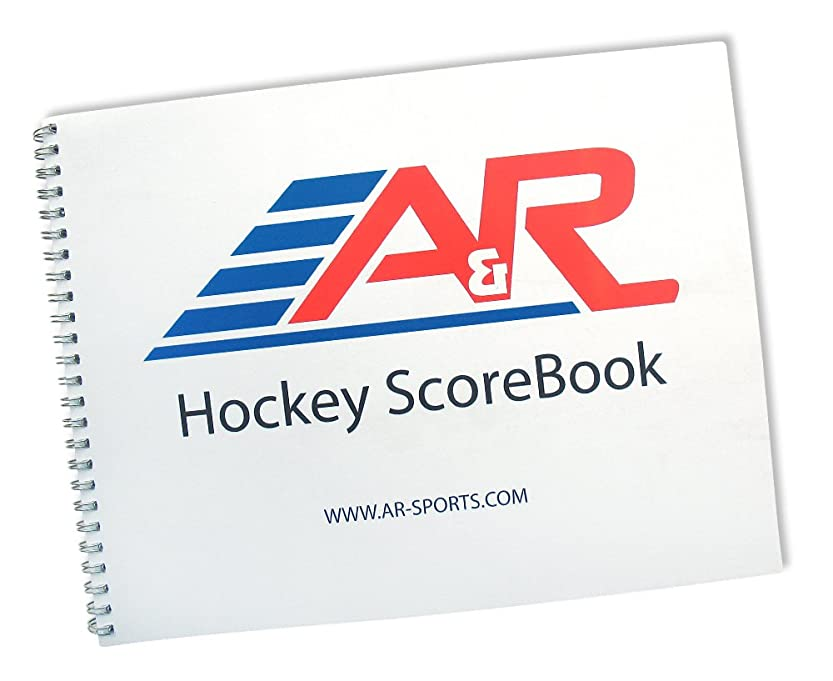 正確に自分の力ですべてをする交換可能A & R Sports Hockey Scorebook