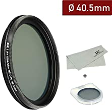 40.5mm Circular Polarizers Filter Ultra Slim 12 Layers Multi Coated CPL Filter for Sony E PZ 16-50mm f/3.5-5.6 OSS(SELP1650) Camera Lenses Includes Carry Case