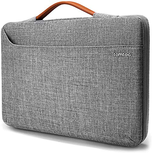 tomtoc Laptop Case Sleeve for 13.5 Inch New Microsoft Surface Book 3/2/1, Surface Laptop 3/2/1, 360 Protective Waterproof Notebook Bag Briefcase for 13-inch Old MacBook Air/MacBook Pro Retina