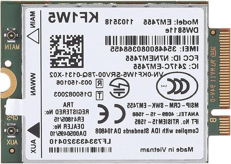 AOER San Francisco Mall 4G LTE WWAN NGFF 4 Wireless Card Em7455 Module Genuine Free Shipping