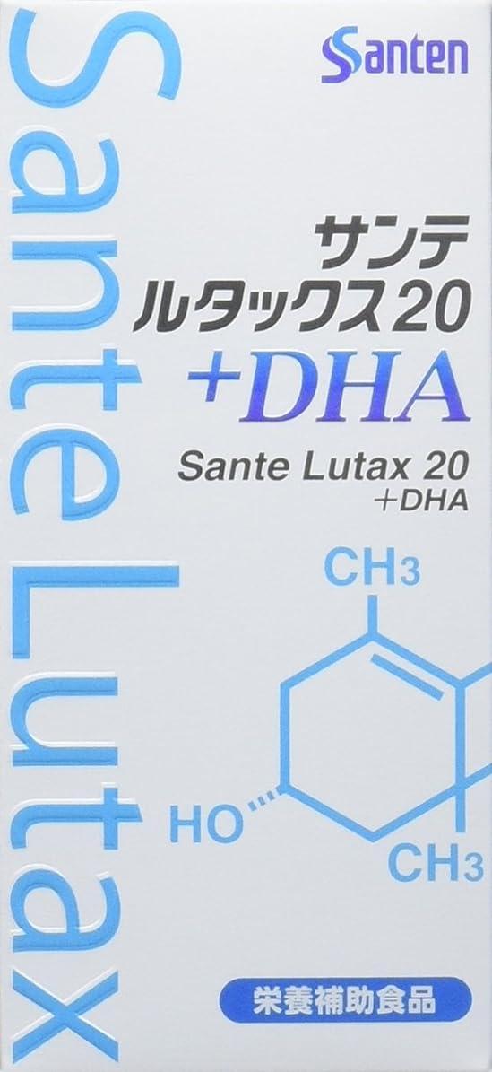 スモッグスキームキャリア【3個】サンテ ルタックス20+DHA 60粒×3個 (4987084530035)