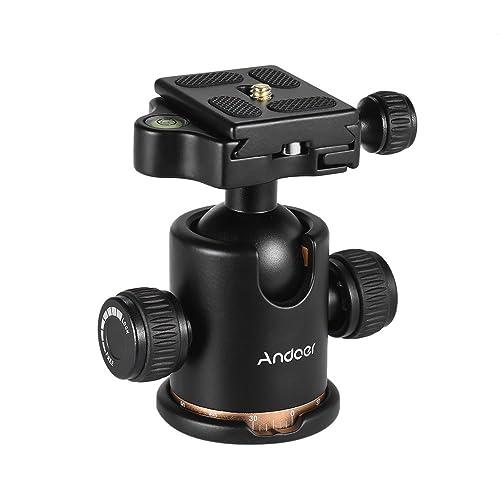 """FOT-R compatto Girevole Testa a Sfera Mini Adattatore slitta flash fotocamera DSLR 1//4/"""""""
