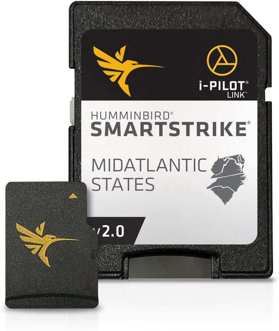Humminbird 600043-4 LakeMaster Plus Mid-Atlantic V2 Digital GPS Maps Micro Card