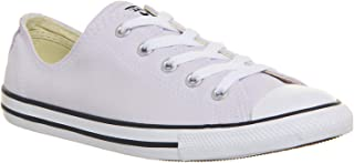 Womens Chuck Taylor All Star Dainty Ox (8 M US, Barely Grape/White/Black)