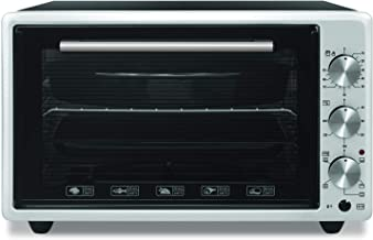 Daewoo Electric Oven 36L with Turbo Fan - Silver DEO-3631BTS., 1 Year Warranty