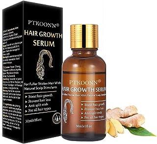 Sérum de crecimiento del cabello tratamiento para el cabello y fortalece los folículos para el crecimiento del cabello a...