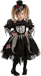 Girl's Bones Costume, Toddler