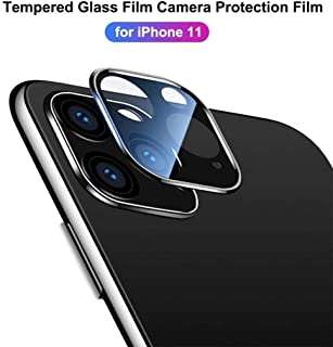 JonerytimeMetal Tempered Glass Screen Rear Camera Lens Protector for iPhone 11 Pro Max 6.5 inch 2019