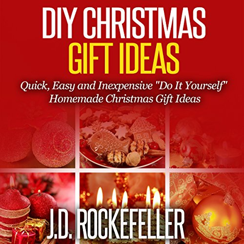 DIY Christmas Gift Ideas audiobook cover art