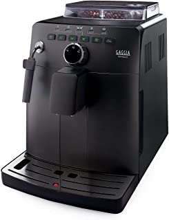 Gaggia HD8749/01 - Cafetera (Independiente, Máquina espresso, 1,5 L, Molinillo integrado, 1850 W, Negro)