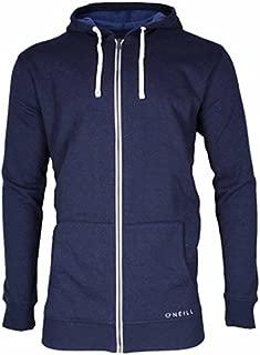 Men's Fleece Full Zip Hooded Line Up Hoodie Jacket