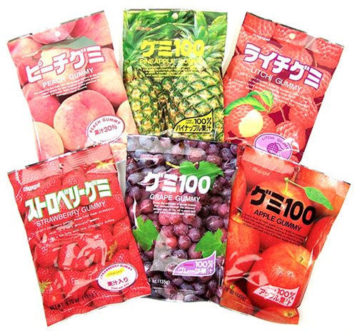 Kasugai Gummy Party Mix 6 Flavors