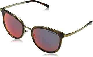 333c2a804b Michael Kors MK1010 Adrianna Polaroized Sunglasses (Tortoise-Gold  Red  Mirror)